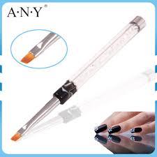 any nail art beauty care one stroke 3d nail art brush angular