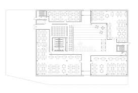 Floor Plan Of Office Building Floor Plan Of The Office Building Stock Illustration Image 82836255