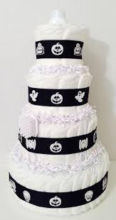 Halloween Baby Shower Cakes by 116 Best Diaper Cakes Images On Pinterest Baby Shower Gifts