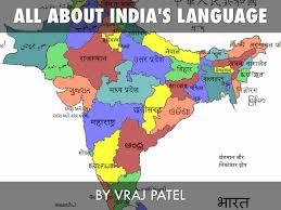 India Language Map by India U0027s Language By Vraj Patel