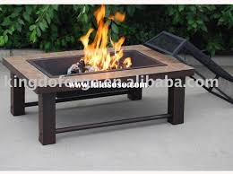 table stunning fire table set rectangle propane gas fire table