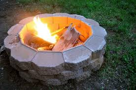 Concrete Fire Pit Exploding by How To Build A Fire Pit In Your Backyard Bob Vila