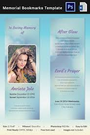 Elegant Funeral Programs Memorial Card Template Printable Funeral Program Template 31