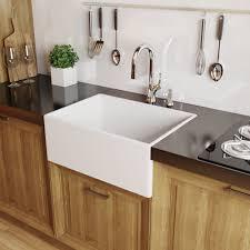 kitchen base cabinet uae miseno mno2420afc white 24 single basin farmhouse fireclay