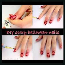 halloween nails ideas easy simple u0026 scary do it yourself pinterest
