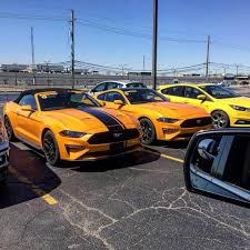 Black And Orange Mustang 2018 Mustang Refresh Released 2018 Mustang Photos Cj Pony Parts