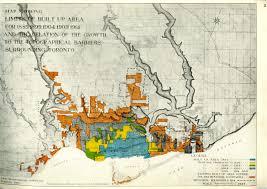 Map Of Toronto And New York by Planning Toronto In 1915 Grahamlarkin