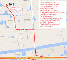 Edgewater Florida Map by Directions U2013 Walk On Water