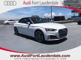 audi s5 convertible white 2018 audi s5 convertible 3 0t premium plus glacier white