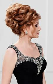 mother of the bride hairstyles partial updo mother of the bride updo wedding hairdo for mother of the bride