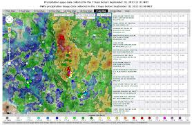 Mexico Precipitation Map by Usgs 2013 Flood Events