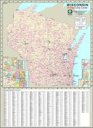 Miami Dade Zip Code Map by Wisconsin Zip Codes Map Zip Code Map