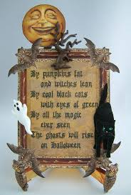 Halloween Witch Poems Vintage Betty Crocker Halloween Ad Old Fashioned Halloween