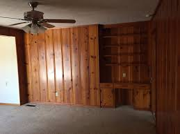 painting knotty pine walls knotty pine tongue and groove paneling paint talk professional