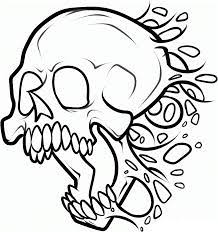image result for free skull stencils to print drawings