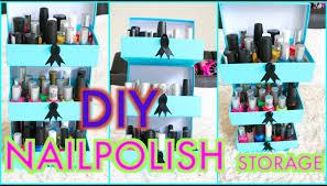 Diy Storage Box by Diy Nail Polish Storage Using Empty Beauty Boxes Superprincessjo