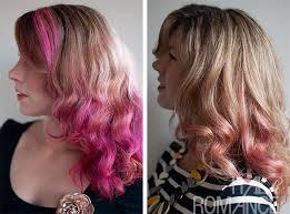 how long does hair ombre last hair romance pink hair fade over 3 weeks rainbow hair romance