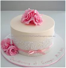 french rose christening cake for a cakes pinterest