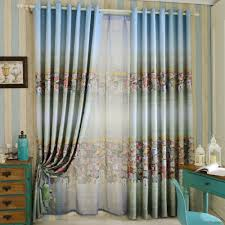 curtains stunning rod pocket curtains stunning teal drapes