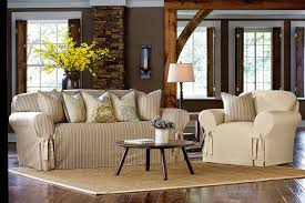 Sure Fit Dining Room Chair Covers Sure Fit Slipcovers Nothing Says Chic Like A Dose Of Stripes