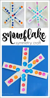 simple snowflake craft for preschoolers explore craft and patterns