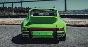 lime green bentley 1974 porsche 911 carrera 2 7 is lime green dream for rm monterey