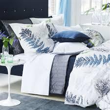 acanthus indigo bedding by designers guild bedside manor ltd