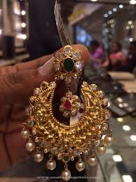 chandbali earrings 40 grams gold chandbali earrings design gold indian jewelry and