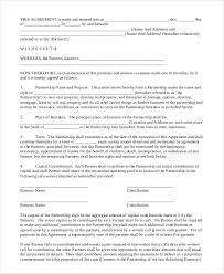 business partnership agreement in pdf file partnership agreement