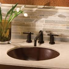 native trails classic hammered copper bathroom sink