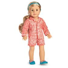 tenney s gingham pajamas for 18 inch dolls american