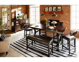 Value City Furniture Dining Room Tables The Newcastle Counter Height Collection Value City Furniture And