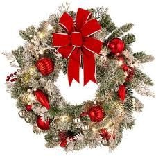 lighted christmas wreaths for windows inspiring design ideas lighted christmas wreaths for windows lowes