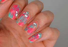 easy water marble nail art technique them much and art techniques