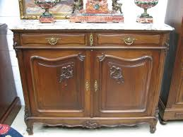 french walnut and marble top buffet french antiques melbourne