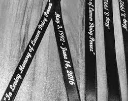 personalized wedding ribbon personalized ribbon etsy