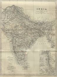 Maps Of India by Early Railway Maps Of India