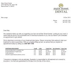 dental recall letter template patient appointment reminder letter