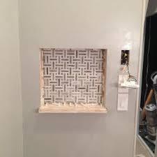 Mosaic Tile Installation Bathroom Big Tiny House
