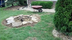 Starting A Fire Pit - i built a backyard firepit real estate blog century 21 scheetz