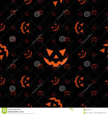 halloween pumpkin face seamless texture stock images image