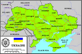 map ukraine map of ukraine my ukraine