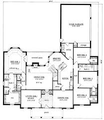 plan42 country style house plan 4 beds 2 50 baths 2803 sq ft plan 42 270