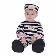 Prisoner Halloween Costumes Amazon Forum Novelties Baby U0027s Lil U0027 Law Breaker Infant Costume