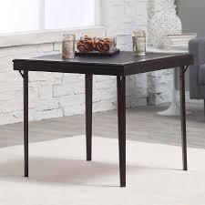 cosco square folding table cosco 32 in square premium wood folding card table walmart com