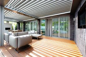 Retractable Roof For Pergola by Patio Roofing Opening Roof Retractable Roof Louvre Roof Louvretec