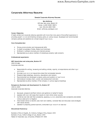 Legal Resume Objective 28 Sample Resume Objectives For Lawyers 44 Effective And