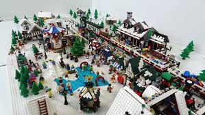 an early winter lego town eurobricks forums