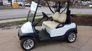 pearl white club car precedent golf cart for sale from