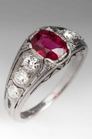 antique diamond engagement rings engagement rings awesome vintage ruby engagement rings a grey